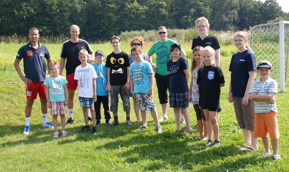 Zeltlager des SportSchützen Team Wetterau