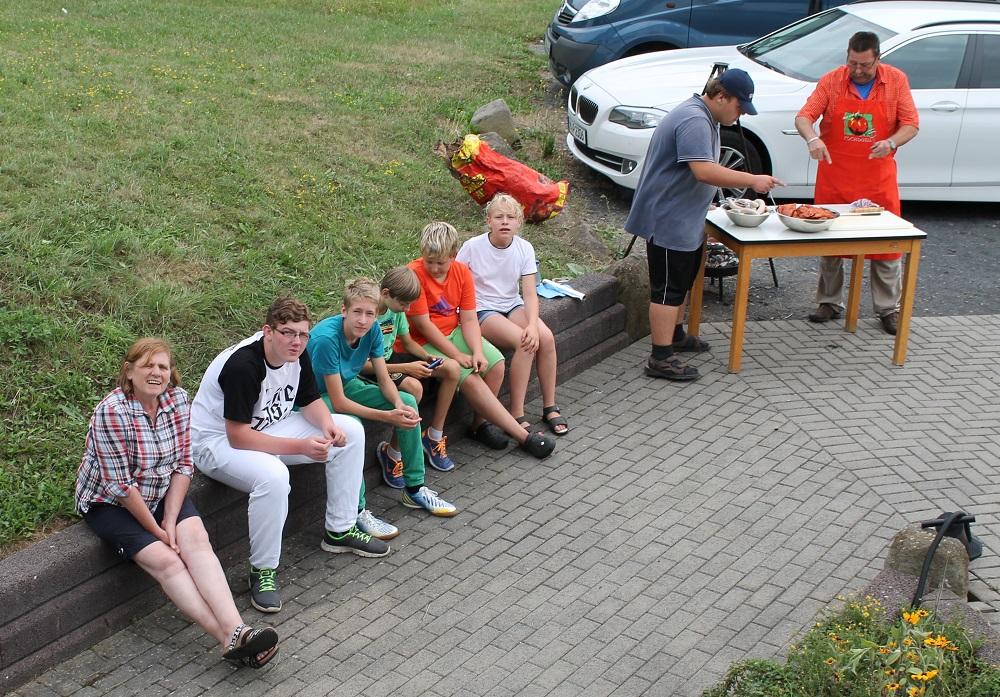 Zweites Zeltlager der Nachwuchsschützen vom SportSchützen Team Wetterau