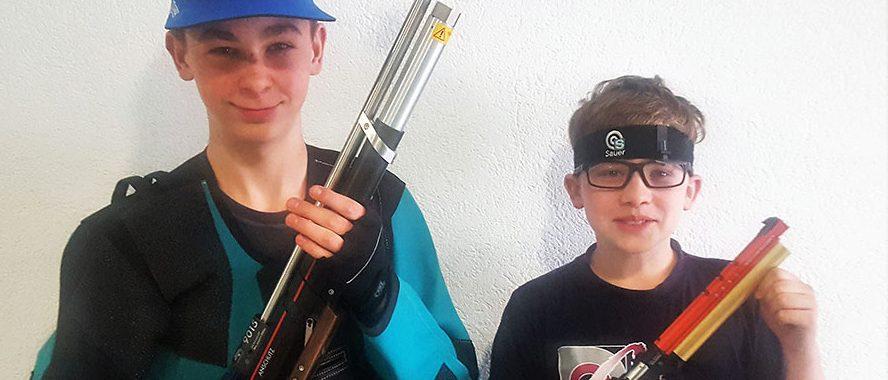 Kai und Jannis Winter gewinnen Shooty Cup