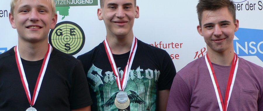 Hessisches Luftgewehr-Gold für das Team Wetterau