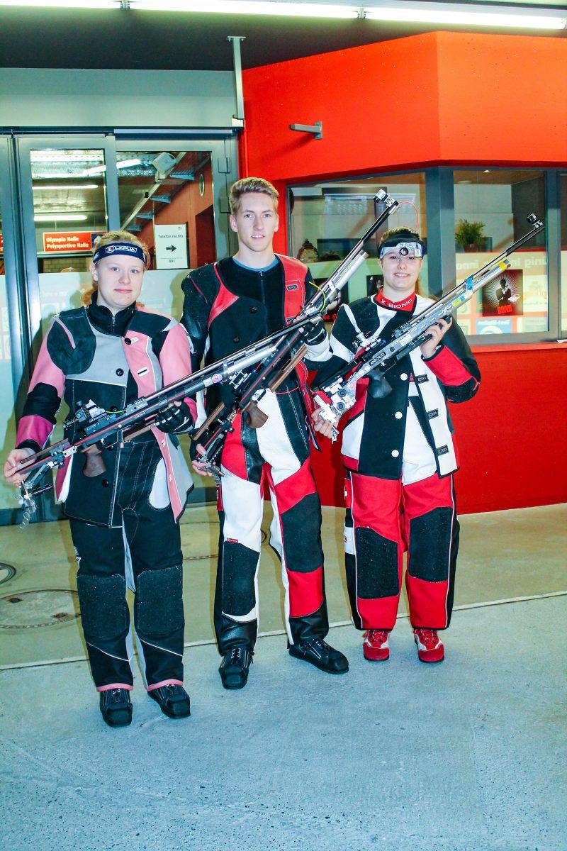 Team Wetterau Schützen - Winter und Dingerdißen in der Schweiz erfolgreich