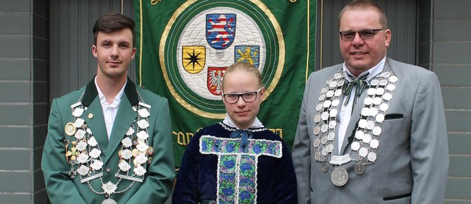 Ralf Winter wurde Hessischer Landesschützenkönig
