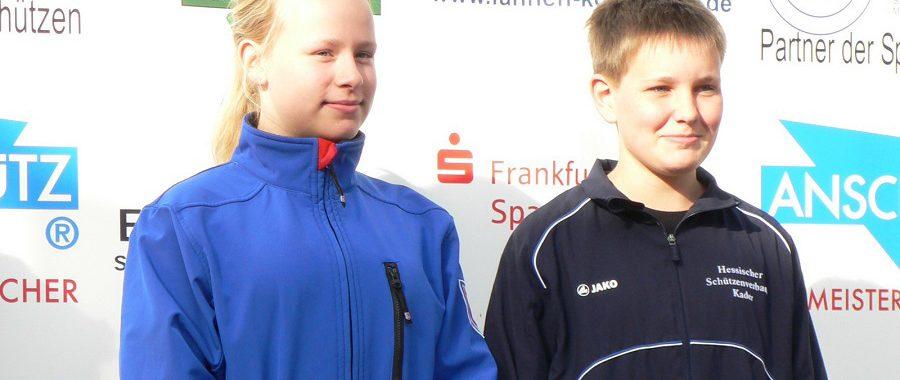 Kathrin Winter und Tom Barbe gewannen den Shooty Cup Hessen
