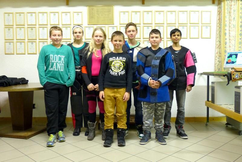 Schülerrunde Luftgewehr Kreis Wetzlar