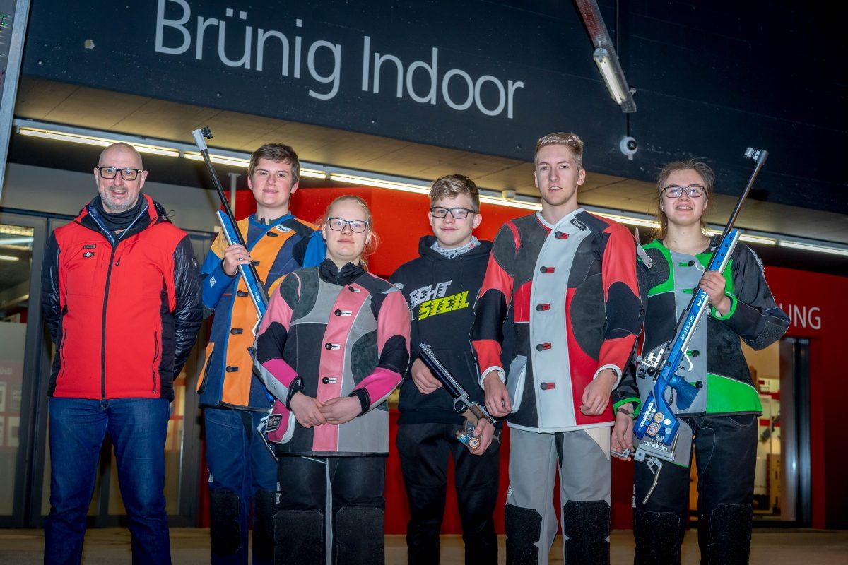 Team Wetterau trainierte in der Schweiz