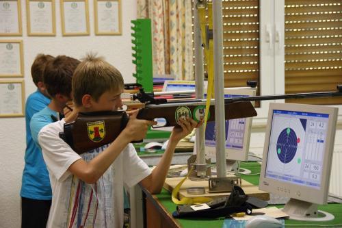 Training Luftgewehr